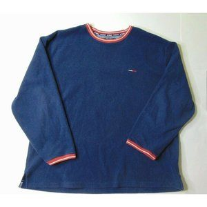 Tommy Jeans XXL Pullover Crewneck Sweater Blue